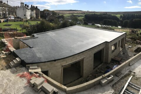 EPDM Flat Roofs in Riddlesden