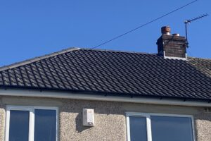 Tiled Roofing around Thorlby