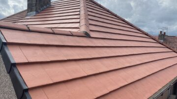Terracotta Tiled Roofing in Thorlby