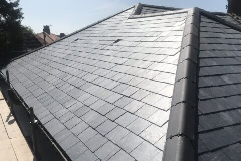 Halifax Slate Tiled Roofing