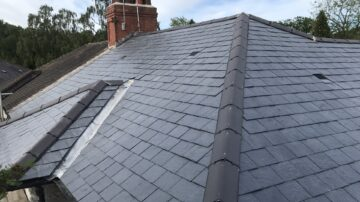 Slate Tiled Roofing in Halifax