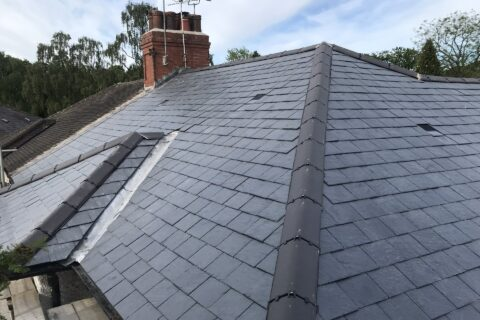 Slate Tiled Roofs in Thornton